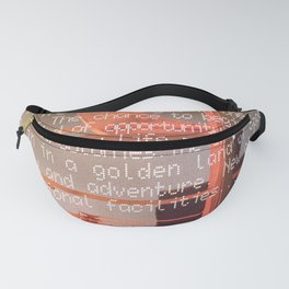 Off World Colony Fanny Pack