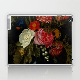 "Maria van Oosterwijck ""Flowers in a vase on a marble ledge"" Laptop & iPad Skin"