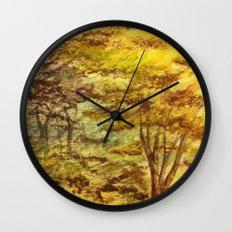Trees 2 Wall Clock