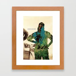 I feel like I've lost my motivation. I'm not sure if I have any passion anymore. Framed Art Print