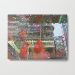 HongKong - Small Fish in Big Town Metal Print