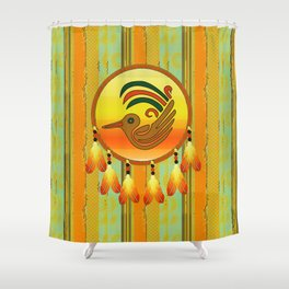 BirdCatcher Shower Curtain