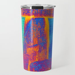 Stonehenge Meets Pop Art Travel Mug