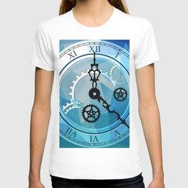 Blue Clock T-shirt