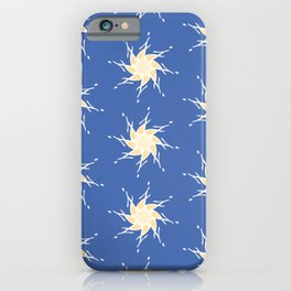 Letter J Stars Pattern iPhone Case