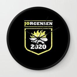 Jo Jorgensen 2020 For President Vote Shirt Wall Clock