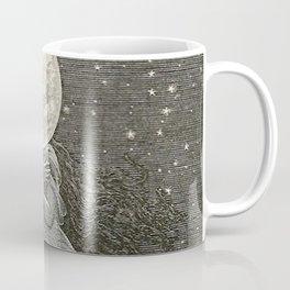 AROUND THE MOON - EMILE-ANTOINE BAYARD Coffee Mug