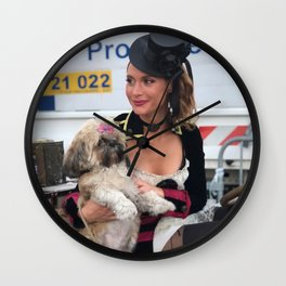 GO d'Azur Joi de Vivre Wall Clock