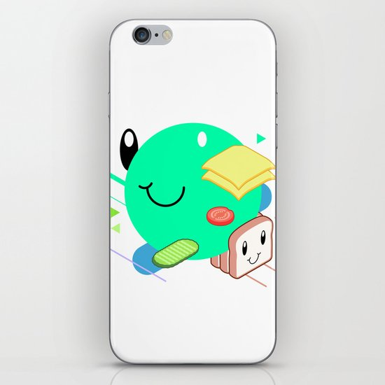 Tasty Visuals - Sandwich Time (No Grid) iPhone & iPod Skin