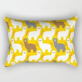 The Alpacas Rectangular Pillow