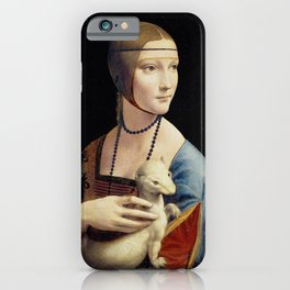 The Lady with an Ermine - Leonardo da Vinci iPhone Case