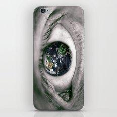 Die Welt mit deinen Augen sehen ! iPhone & iPod Skin