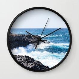 Crashing Surf Wall Clock