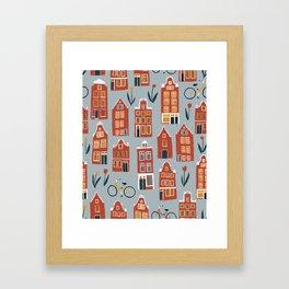Charming Dutch Houses Framed Art Print