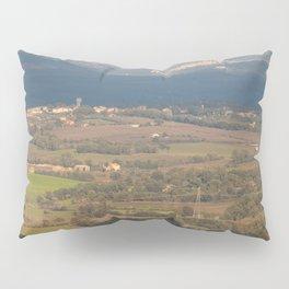 Italian countryside landscape Pillow Sham