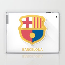 Barcelona Smooth Logo Laptop & iPad Skin