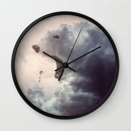 Bear Cloud // Infinite Wall Clock