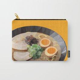 Japanese Tonkotsu Ramen Polygon Art Carry-All Pouch