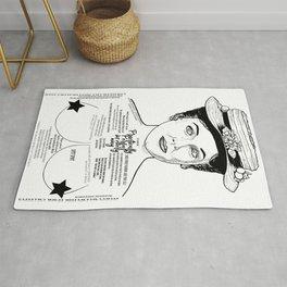 Mary Poppins Cor Blimey Ink'd Series Rug