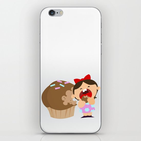 greedy iPhone & iPod Skin