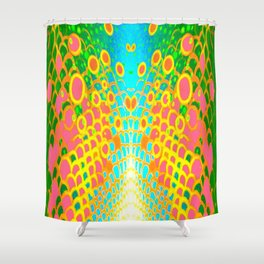 Engage Plasma Beam Shower Curtain
