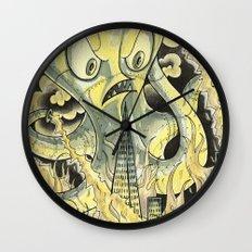 Steamechanical Octopus Wall Clock