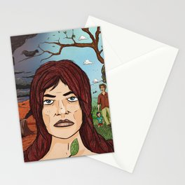 The Garden of Eden Stationery Cards