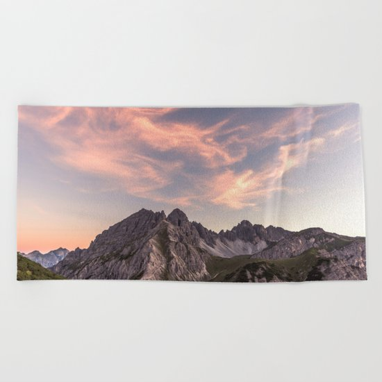 Alpine Journey Beach Towel