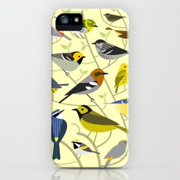 New World Warblers 2 iPhone Case