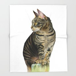 The Lookout Throw Blanket