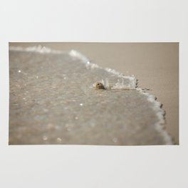 Seashell in the Waves Rug