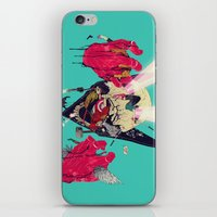 hero iPhone & iPod Skins featuring Hero Eater by boneface