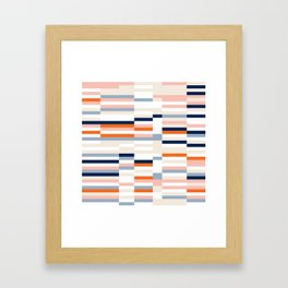 Connecting lines 2. Framed Art Print