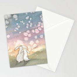 Sunset Fairies Stationery Cards