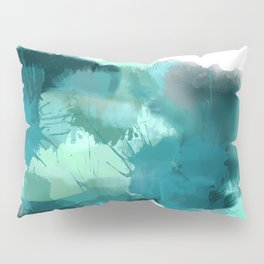 Abstract Jade Color Story Pillow Sham