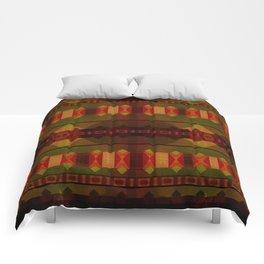 """Full Colors Tribal Pattern"" Comforters"