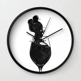 Mind wanders. Wall Clock