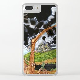 EL PEREGRINO Clear iPhone Case