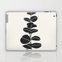 Minimal Eucalyptus Line Art Laptop & iPad Skin