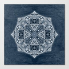 Natural Blueprint Canvas Print