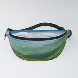 A Splendid View of the Blue Ridge Mountains Fanny Pack