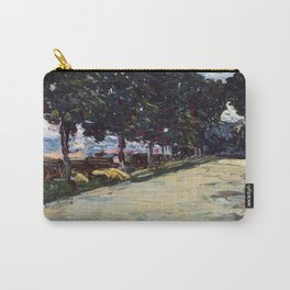 Park in St. Cloud, 1605, Old Masters Collection, Wassily Kandinsky Carry-All Pouch