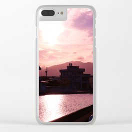 Fantastic colors of the sunset Clear iPhone Case