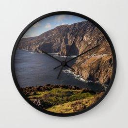 Slieve League Cliffs Wall Clock