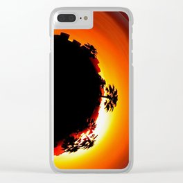 Tiny Planet Clear iPhone Case