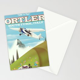 Ortler South Tyrol, Italy travel poster Stationery Cards