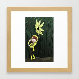 Showers and Flowers Framed Art Print