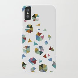 Color Hexagons iPhone Case