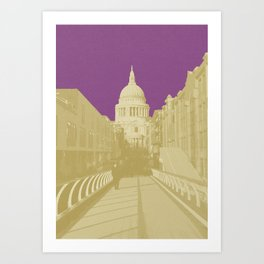 Plum Saint Art Print
