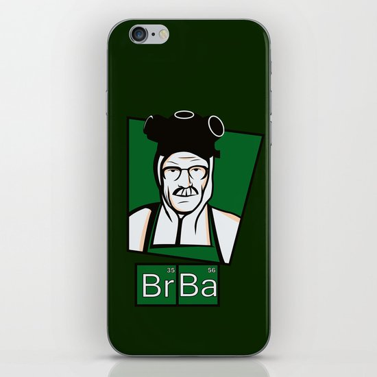 The Cook of Breaking Bad iPhone & iPod Skin